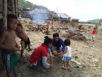 PUROK. The purok, a smaller unit in villages in Daram, serves as a support network for Guindapunan residents, helping survivors like the Gudines family to pick up the pieces after the disaster