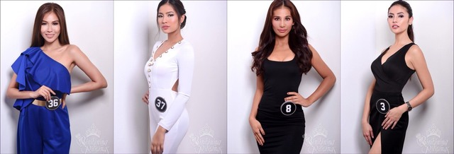EARTH TO BB PILIPINAS. These ladies from Miss Philippines Earth will try to get a crown in Bb Pilipinas