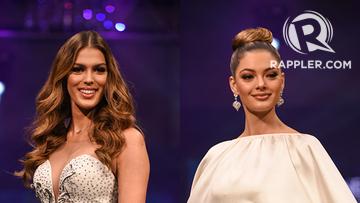 Miss Universe 2017 Demi-Leigh Nel-Peters, Iris Mittenaere
