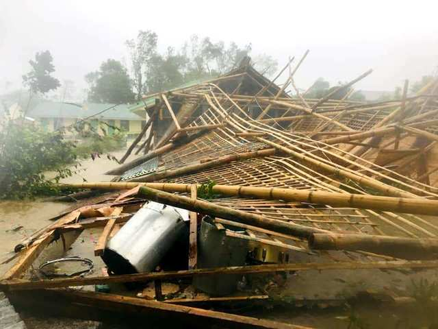 Aklan Rushes Repair Of Schools Damaged By Typhoon Ursula