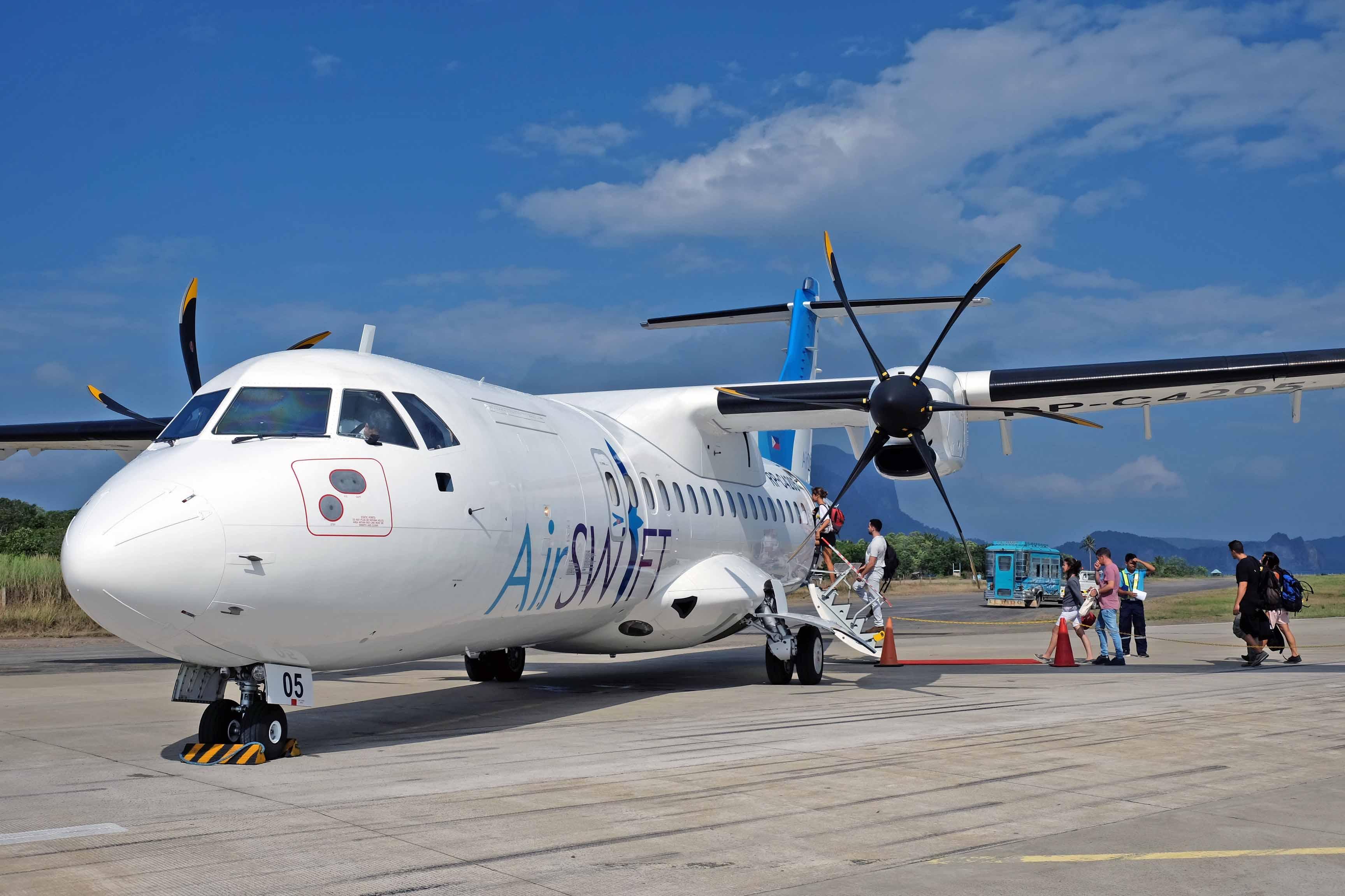 Manila to boracay flight time