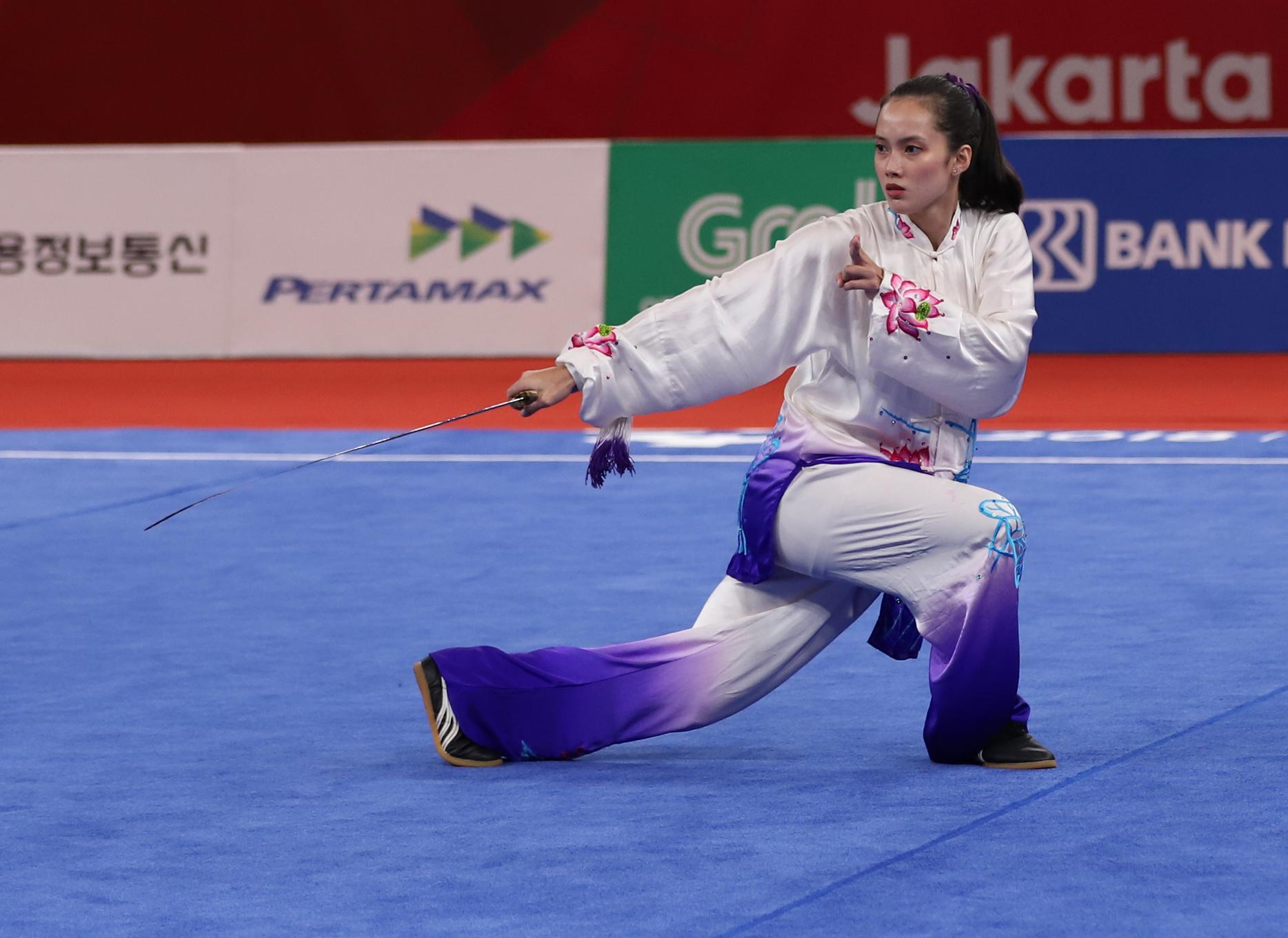 Wushu star Agatha Wong cops second SEA Games 2019 gold