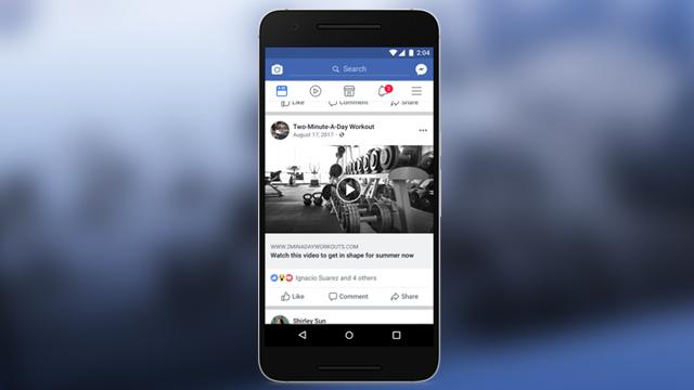 Video In Facebook