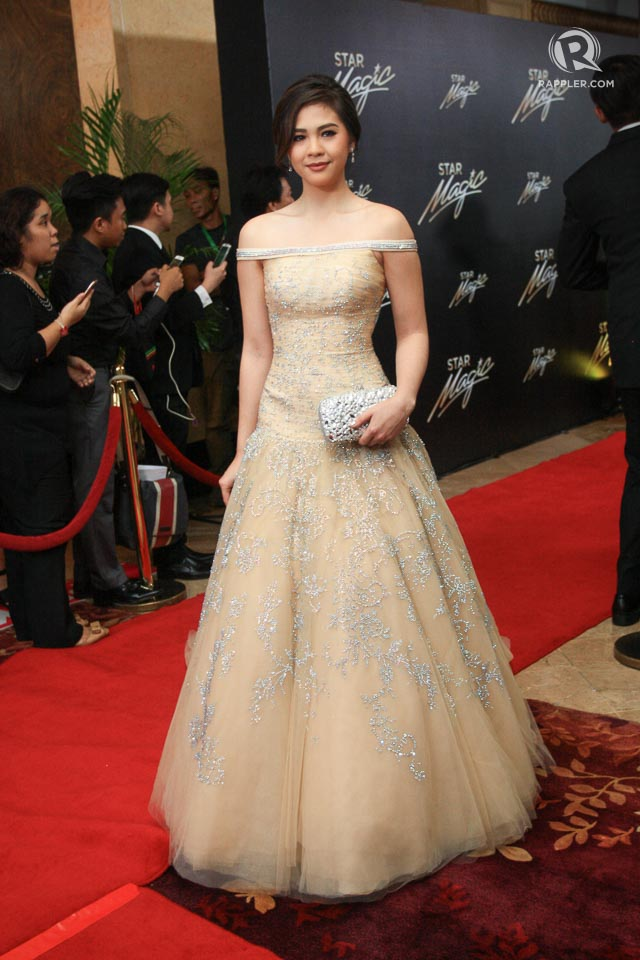 star magic ball 2015 who walked the red carpet solo