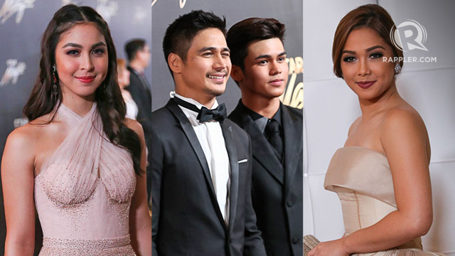 Magnificent Star Magic Ball 2015 Who Walked The Red Carpet Solo Hairstyle Inspiration Daily Dogsangcom