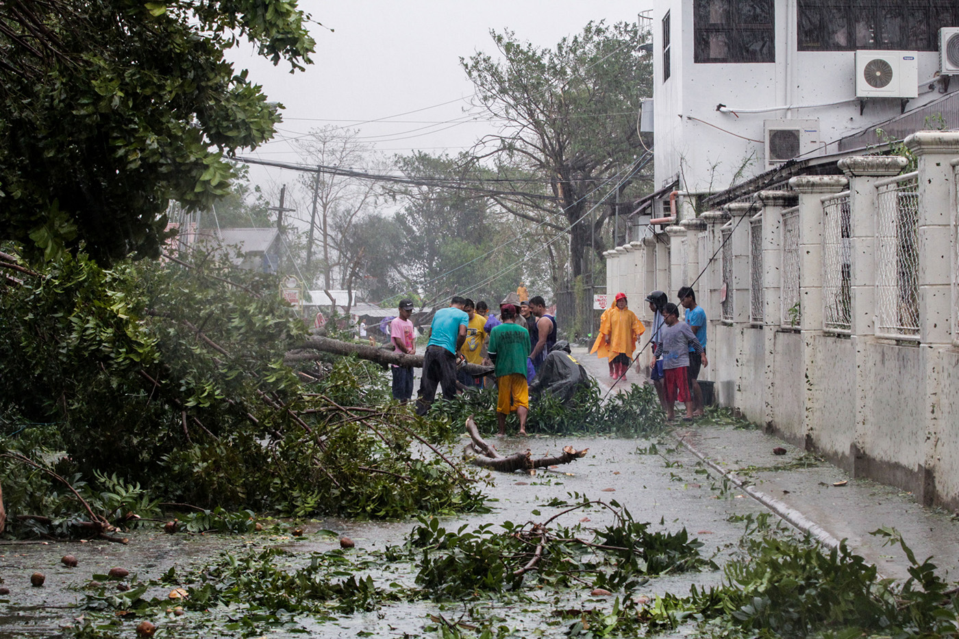 Clearing operations ongoing in typhoon-hit Isabela