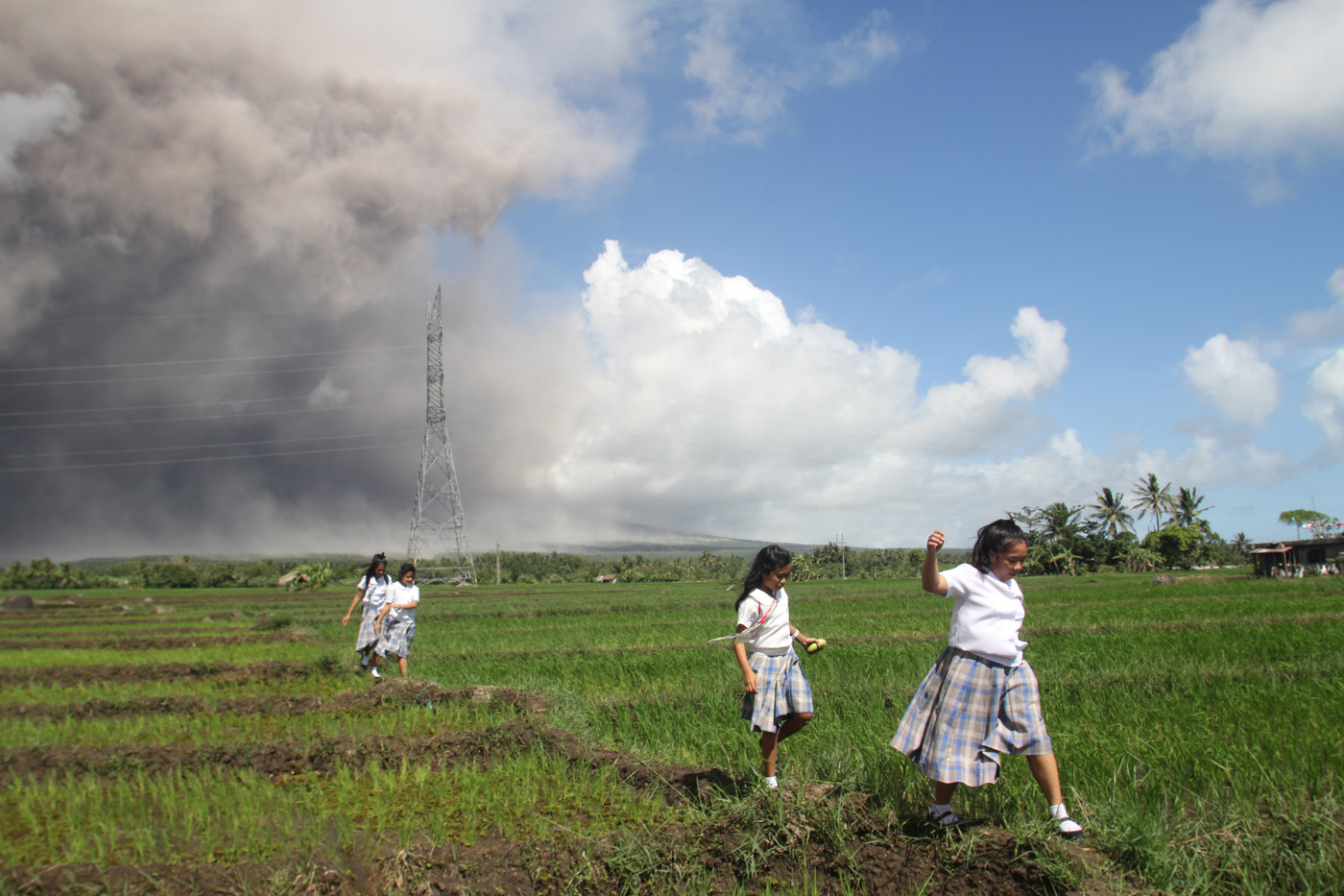 Agriculture damage due to restive Mayon volcano reaches P165M