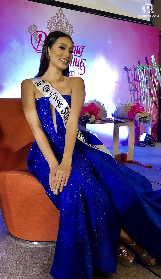 FOR THE CROWN. Jehza Huelar hopes to duplicate the success made by Mutya Datul in 2013.