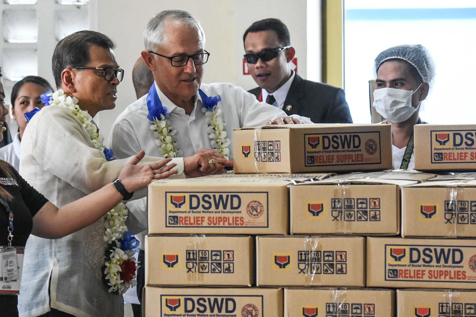 Turnbull talks security, terrorism, Marawi crisis during PH visit