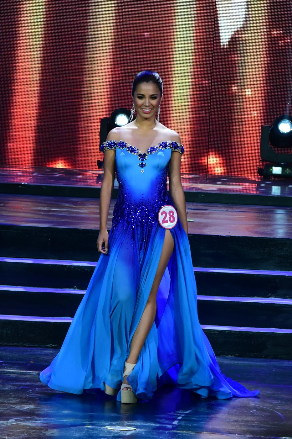 In Photos Evening Gown Segment Mutya Ng Pilipinas 2017