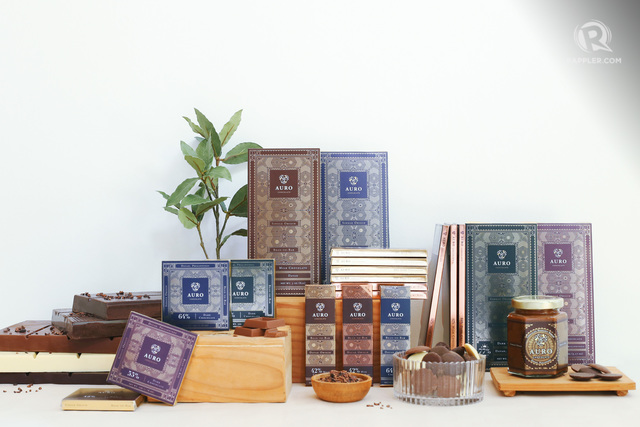 WHAT TO GET. Auro Chocolate features a wide range of chocolate products.