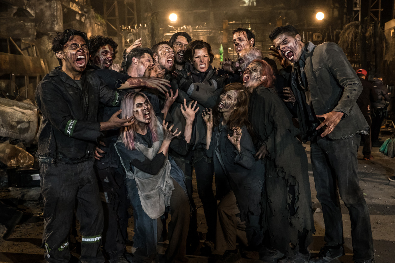Milla Jovovich thanks ... Milla Jovovich Resident Evil 5