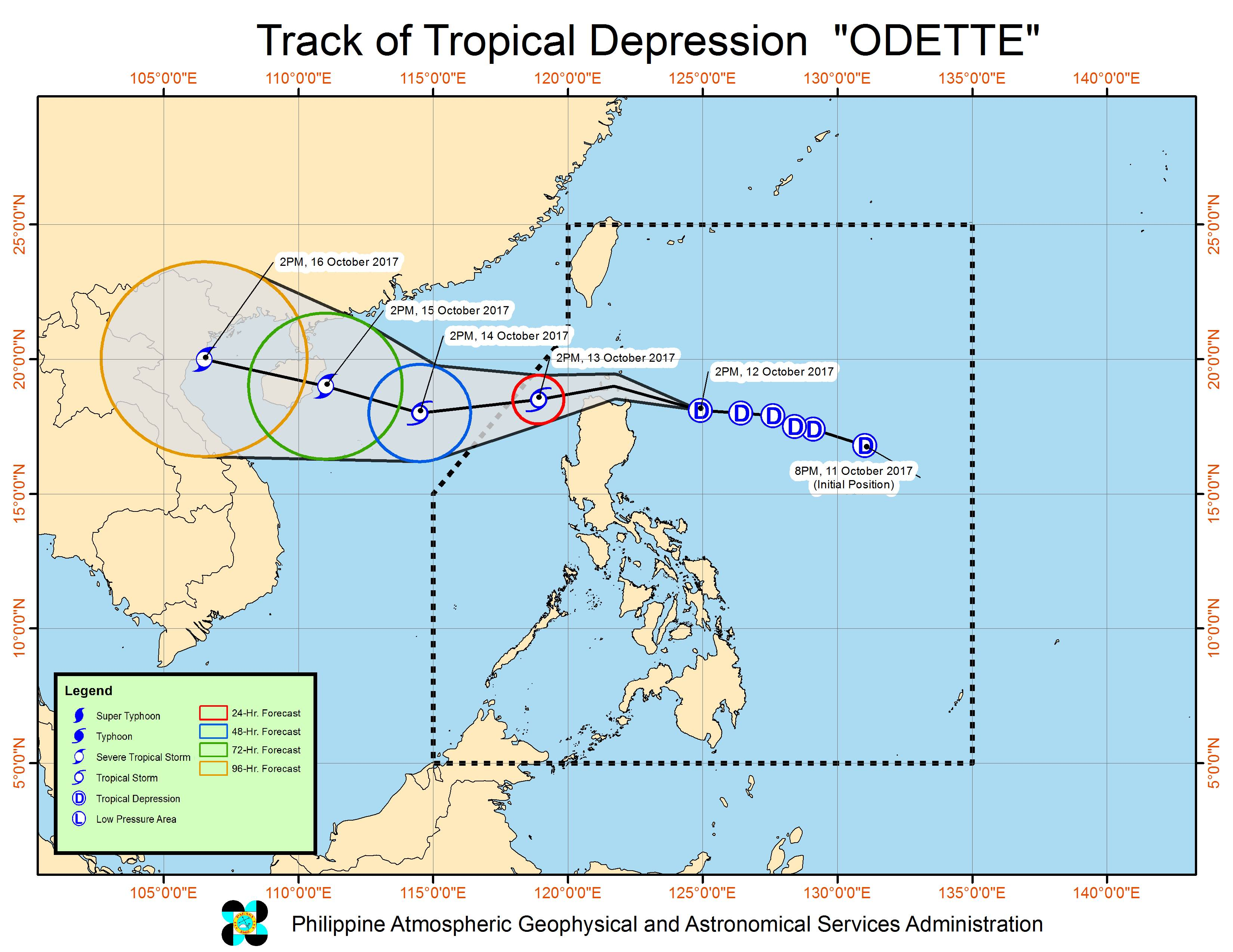Tropical Depression Odette threatens Cagayan