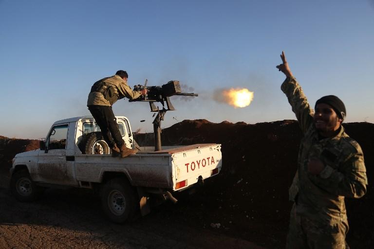 Turkish jets pound Kurdish militia in new Syria offensive