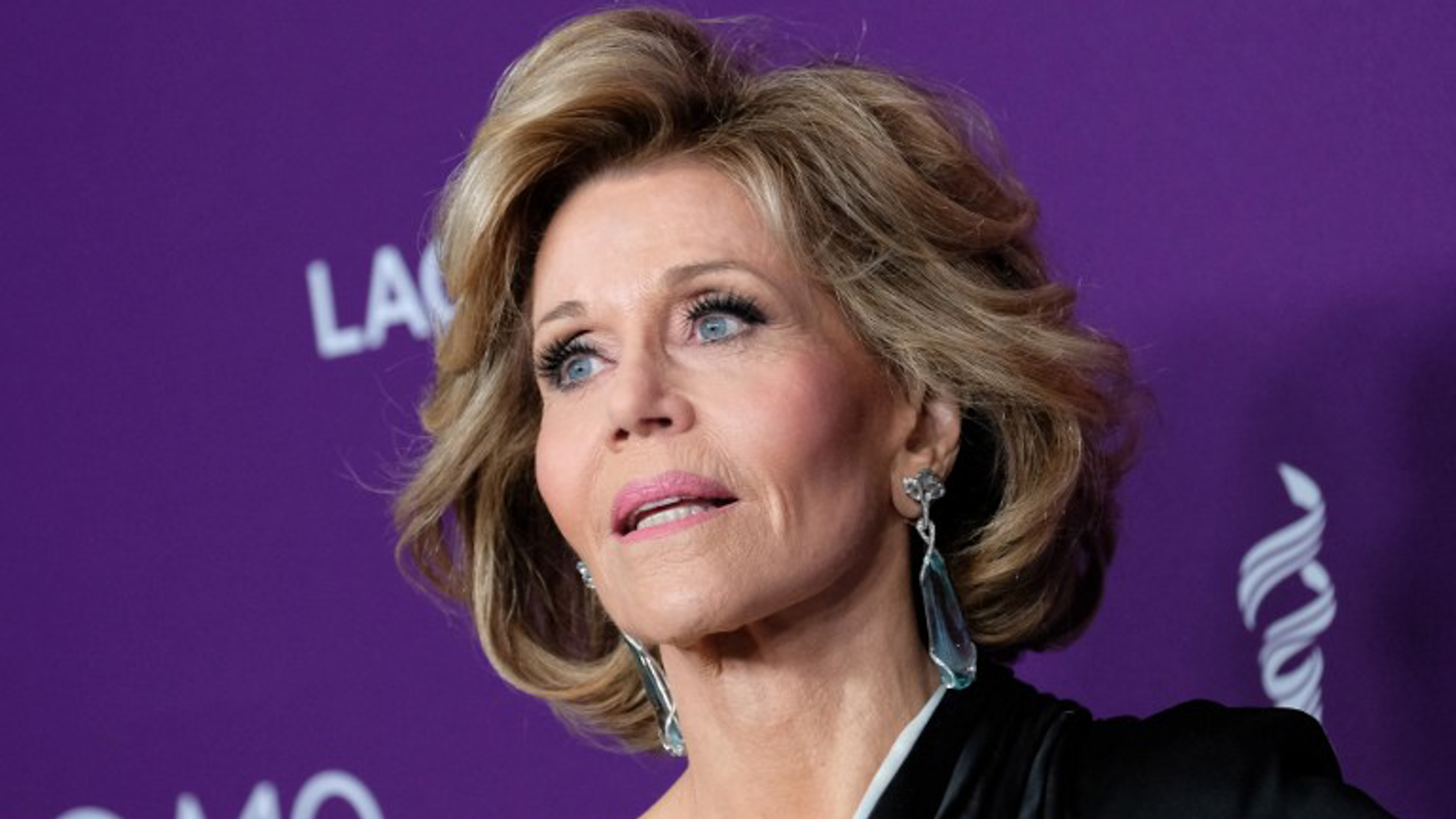 Jane fonda's cunning lingual slip of the tongue