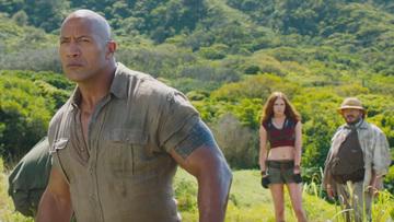 Watch Dwayne Johnson Jack Black In First Jumanji Trailer