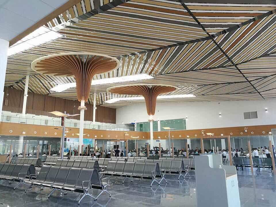 Look Puerto Princesa International Airport S New Terminal