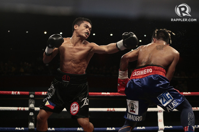 CIVIL WAR. Jonas Sultan is now in line for the first all-Filipino world title fight in over 90 years. Photo by Gelo Litonjua/Rappler