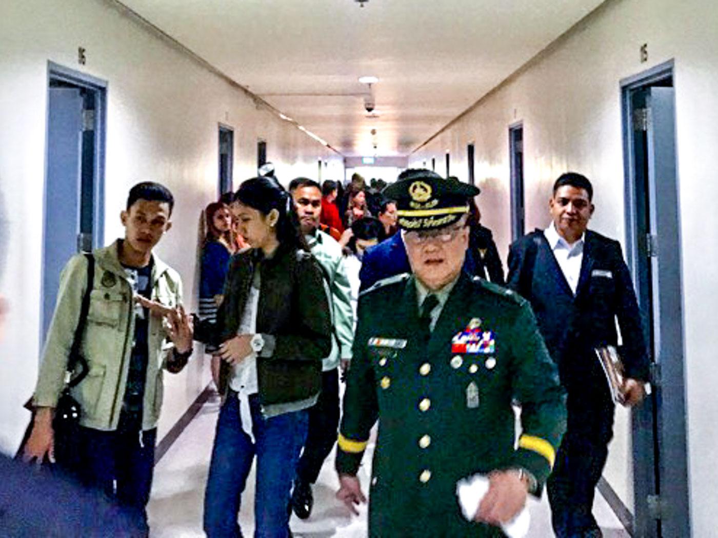 IN PHOTOS: Inside the Philippine Military Academy barracks
