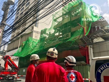 Injured After Hotel Sogo Collapses