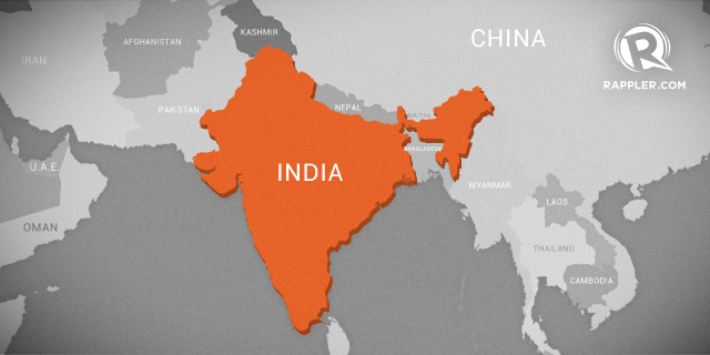 Latest India Map.Death Toll Hits 32 In India Rebel Violence