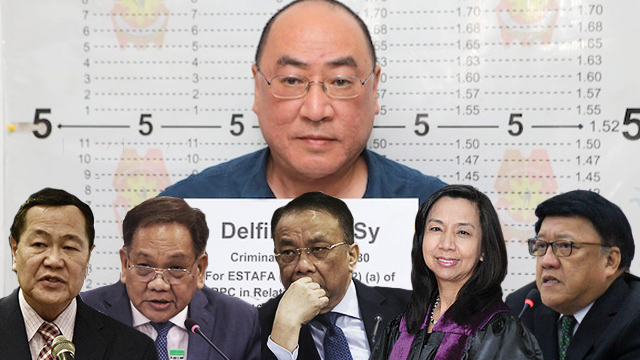 #CJSearch: How chief justice applicants voted on P7-B Delfin Lee scam