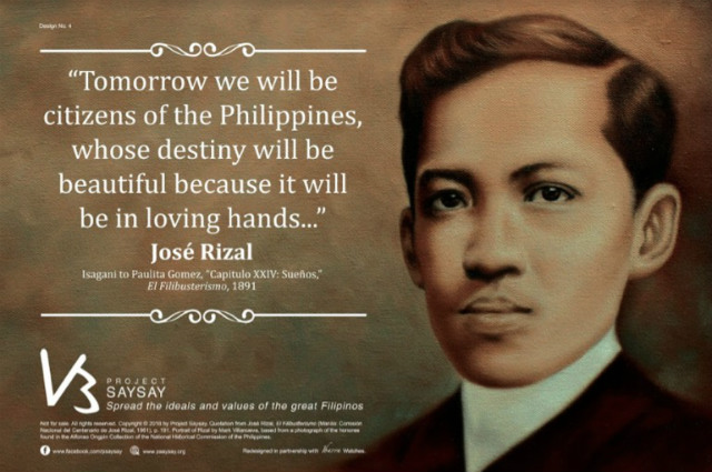 jose rizal contribution in our country
