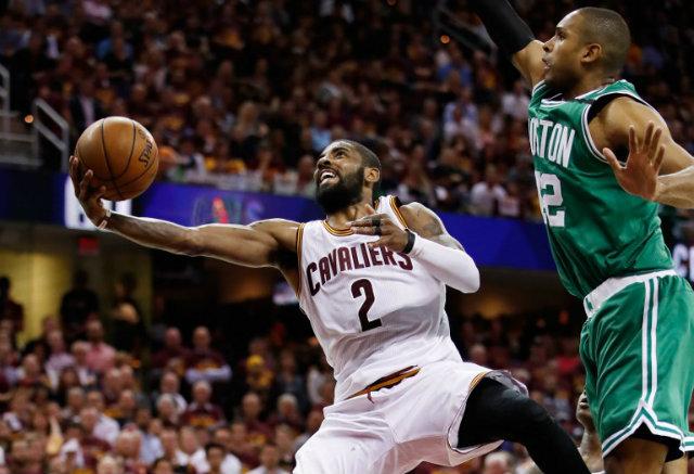 Irving sparks Cavs second half comeback to edge Celtics