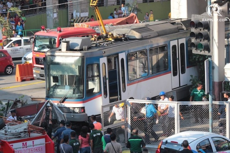 Image result for images of mrt-3  disasters