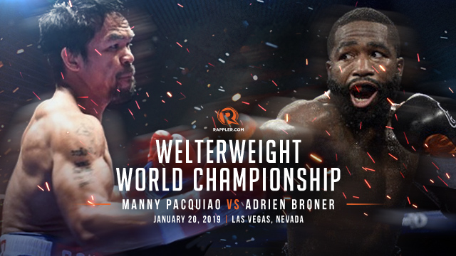 LIVE UPDATES: Manny Pacquiao vs Adrien Broner fight