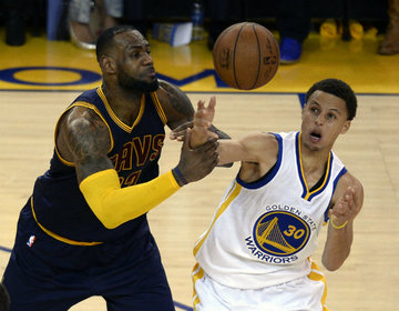 90fbf50d6d1 The Golden State Warriors and the Cleveland Cavaliers meet in the NBA Finals  for