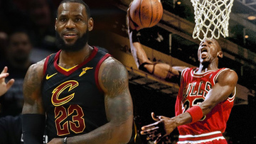 fa977804de74 LeBron James has been compared to Michael Jordan for most of his career.