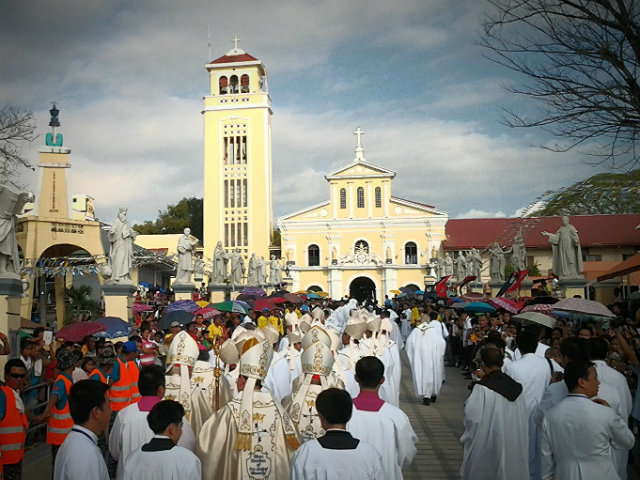 Resulta ng larawan para sa pilgrimage to manaoag