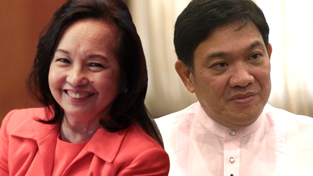 Arroyo backs Andaya amid ouster rumors