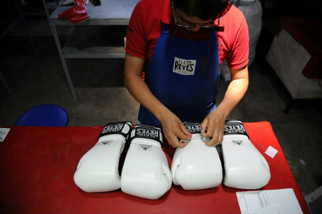 The Mexico artisans behind Cleto Reyes boxing gloves