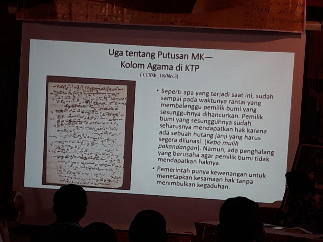 RAMALAN. Salah satu ramalan Pangeran Madrais yang terbukti menjadi kenyataan. Foto oleh Yuli Saputra/Rappler