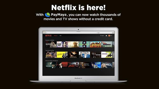 how to pay netflix without credit card
