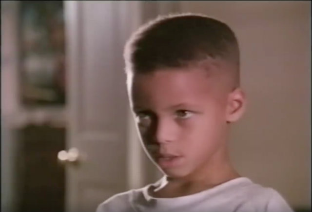Watch Young Steph Curry With Dad Dell In Vintage Bk