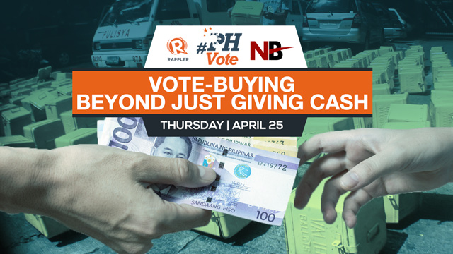 Newsbreak Chats: Vote-buying beyond just giving cash