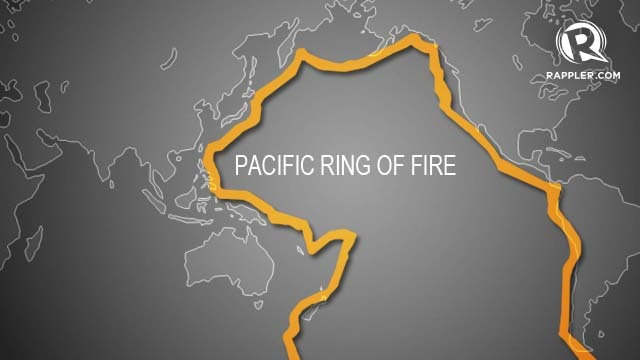 Countries Aeound The Pacific Ring Of Fire