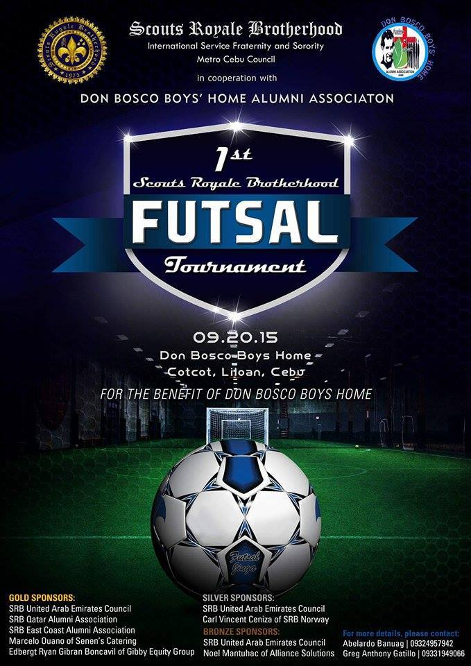 Join The 1st Srb Futsal Tournament In Cebu