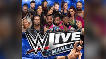 WWE returns to Manila in September 2019