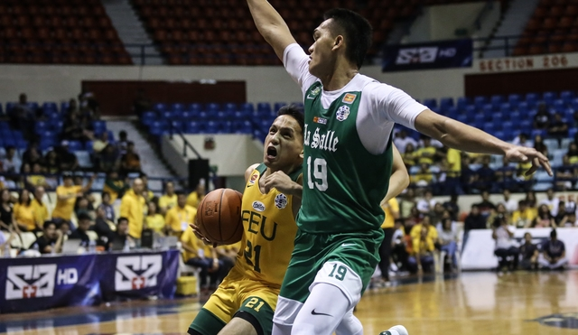 FEU destroys La Salle to regain 4th spot