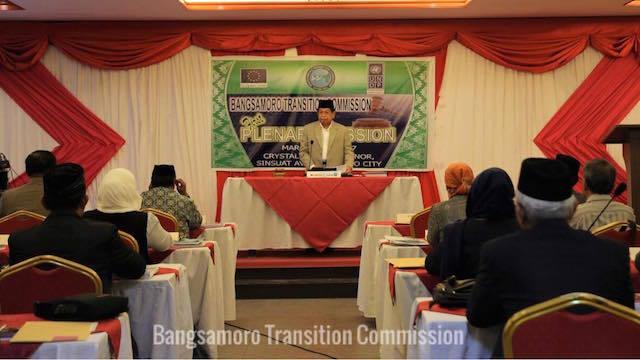 POSTPONEMENT. The Bangsamoro Transition Commission postpones the Bangsamoro Assembly. File photo from BTC Facebook page