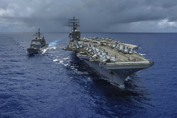3 U S  carrier visits to Philippines show America cares – envoy