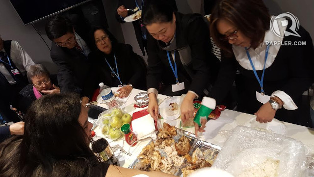 #COP21: PH team hold 'salu-salo' while waiting for UN ...
