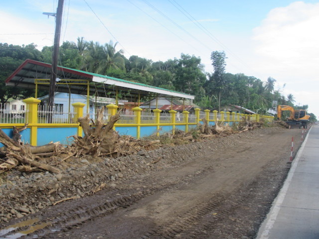 EXTENSION. Construction has started for the extension of the Palawan highway in the southern portion of the province. Photo courtesy of Palawan NGO Network Incorporated