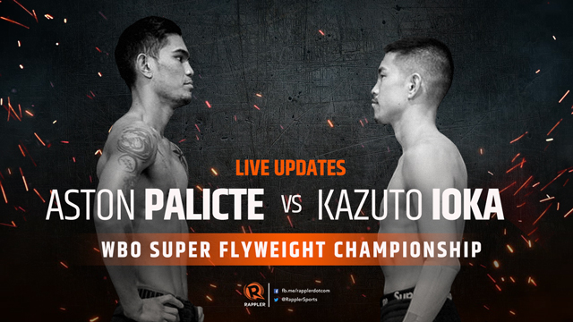 HIGHLIGHTS: Palicte vs Ioka fight – WBO Super Flyweight Championship