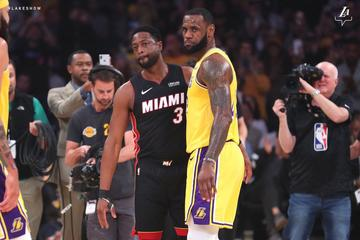 01449a49e370 This is Dwayne Wade s final matchup with his dear friend LeBron James