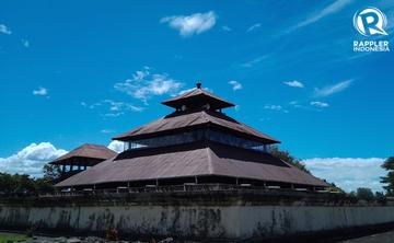 Menengok Masjid Indrapuri Masjid Bekas Candi Di Aceh